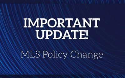 A Change in Law Requires a Change in MLS Policy