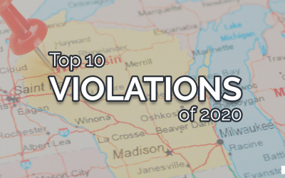 Top 10 Violations of 2020