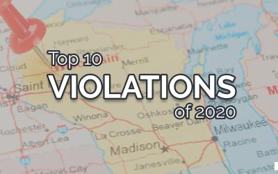 Top 10 Violations of 2020