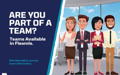 Register for the Teams Program in Flexmls