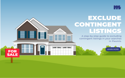 How to Exclude Contingent Listings in Flexmls