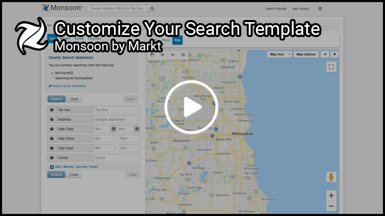 Customize Search Template in Monsoon