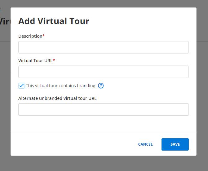 Flexmls Video and Virtual Tour Change Photo