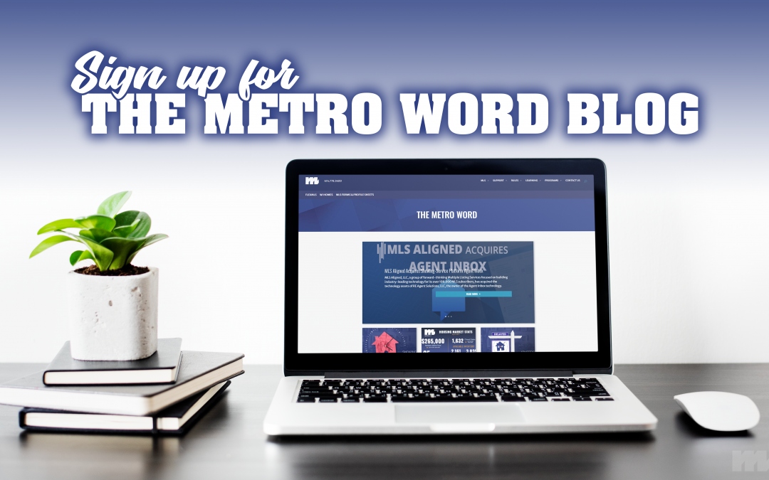 The Metro Word Blog Message Graphic