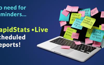 Schedule a Report in RapidStats Live