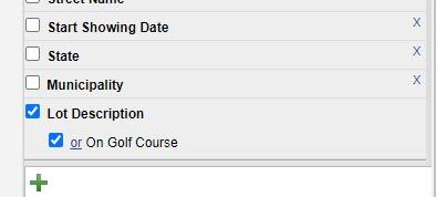 Box Checked Flexmls On Golf Course