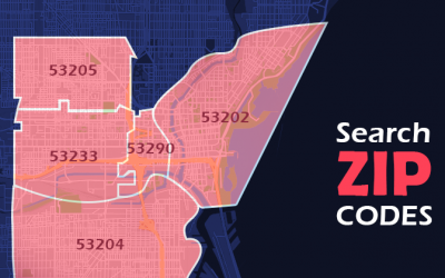 Finding ZIP Codes via Map Areas in Flexmls